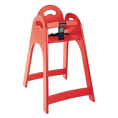 Koala Designer High Chair, Red (KB105-03)
