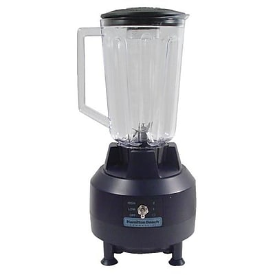 Hamilton Beach Commercial Bar Blender, 44 Oz., Black, 15 1/4
