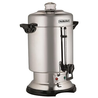 Hamilton Beach Stainless Steel Coffee Urn, 60 Cup (D50065)