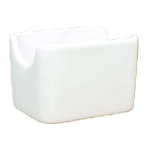 "International Tableware 2 3/8"" European White Sugar Packet Holder, 36/CT (CH225-02)"