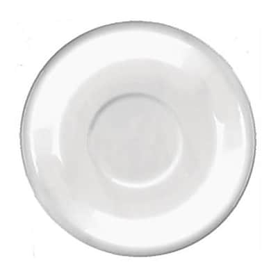 International Tableware 6 1/8 inch Cancun European White Latte Saucer 36/Pack (822-02S) 2474443
