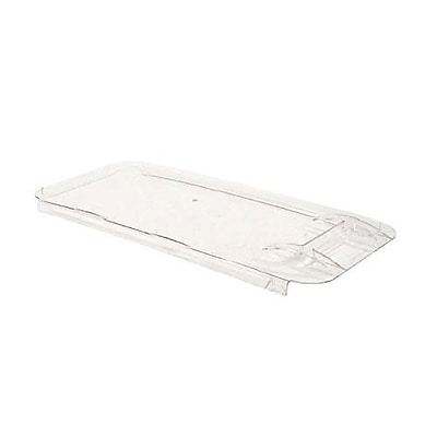 """""Cambro 34 Gal Ingredient Bin Cover, 29 1/2"""""""" L x 15 1/4"""""""" W x 29"""""""" H, Clear, 1/Pack (IB36LIDCW135)"""""" 2474454"