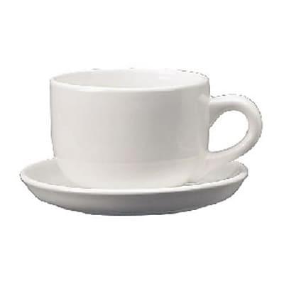 International Tableware 16 Oz. Cancun™ European White Latte Cup, 24/Pack (822-02)