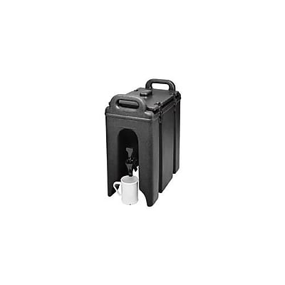 Cambro Camtainer 2 1/2 Gallon Beverage Carrier, Black (250LCD110)