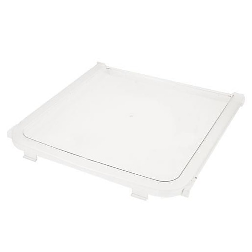 "Cambro Ingredient Bin Rear Lid Panel,  14 5/8"" L X 15 7/16"" H X 1 3/16"" W, White (60270)"