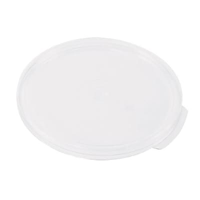 Cambro 12, 18 and 22 Qt. Round Cover, White, 6/Pack (RFSC12148)