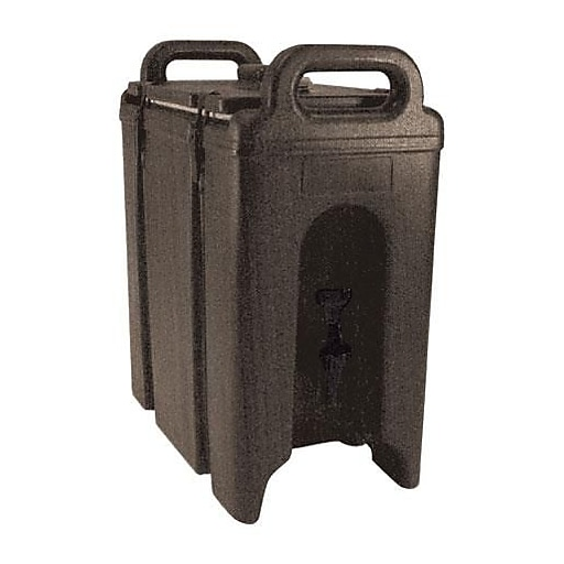 Cambro Camtainer 2 1/2 Gallon Beverage Carrier, Brown (250LCD131)