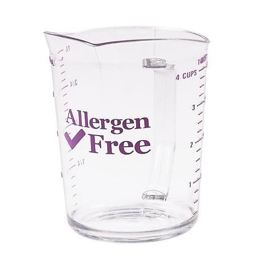 Cambro 2 Qt Allergen Free Measuring Cup, Polycarbonate (200MCCW441)