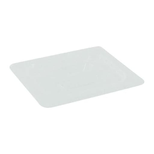 """Cambro 1/6 Size Cover, 6/7"""" H x 6 2/7"""" W x 6 7/8"""" D, Clear (60PPCH190)"""