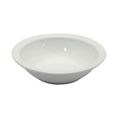 Cambro Camwear 10.9 Oz. White Grapefruit Bowl (60CW148)