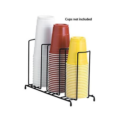 Dispense-Rite 3-Section Wire Cup/Lid Dispenser (WR-3) 2474612