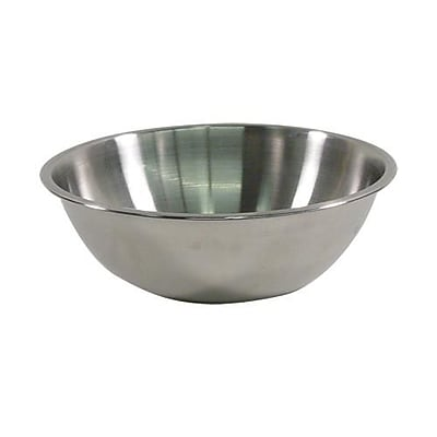 Crestware 4 Qt. Stainless Steel Mixing Bowl (MBP04)
