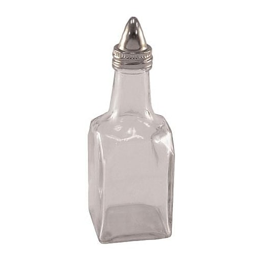 American Metalcraft 6 Oz. Square Oil/Vinegar Bottle, 12/CT (VWB26)