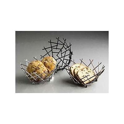 American Metalcraft Small Black Thatch Basket (FRUB12)
