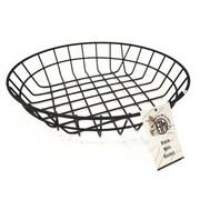 American Metalcraft 10 inch Round Black Wire Basket (WIB100) by