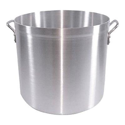 Adcraft Atlas Aluminum Stock Pot, 60 Qt.