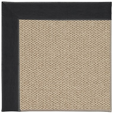 Capel Inspirit Machine Tufted Onyx/Brown Area Rug; Rectangle 9' x 12'