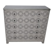 Crestview Springfield 4 Drawer Nailhead Chest