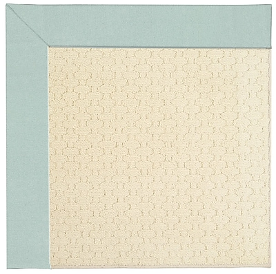 Capel Zoe Off White Indoor/Outdoor Area Rug; Square 4'