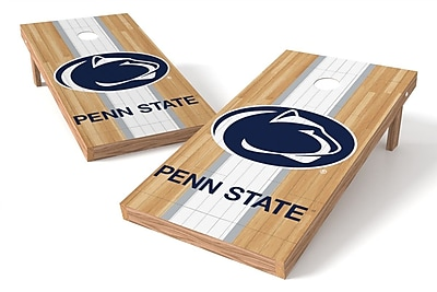 Tailgate Toss NCAA Hardwood Game Cornhole Set; Penn State Nittany Lions