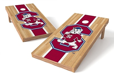 Tailgate Toss NCAA Hardwood Game Cornhole Set; South Carolina State Bulldogs