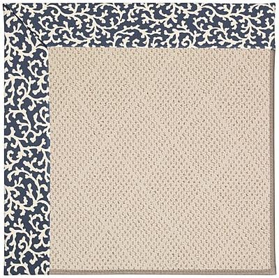 Capel Zoe Beige Indoor/Outdoor Area Rug; Rectangle 7' x 9'