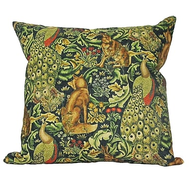 Golden Hill Studio William Morris Bunny Pillow Cover