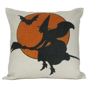 Golden Hill Studio Halloween Witch Pillow Cover