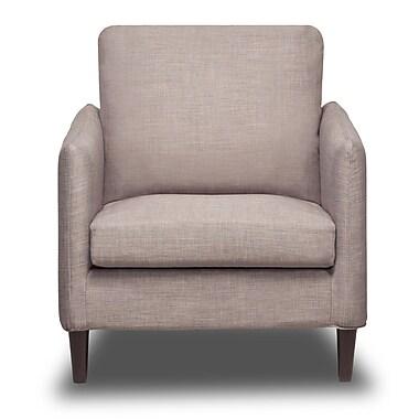 S2G Crosby Arm Chair; Flannel Grey
