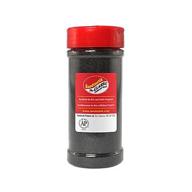 Sandtastik® Classic Coloured Sand, 14 oz (396 g) Bottle, Black, 8/Pack