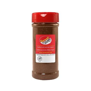 Sandtastik® Classic Coloured Sand, 14 oz (396 g) Bottle, Brown, 8/Pack