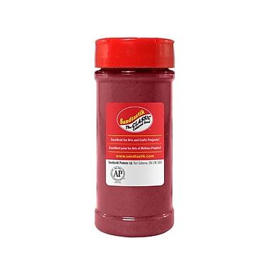 Sandtastik® Classic Coloured Sand, 14 oz (396 g) Bottle, Burgundy, 8/Pack