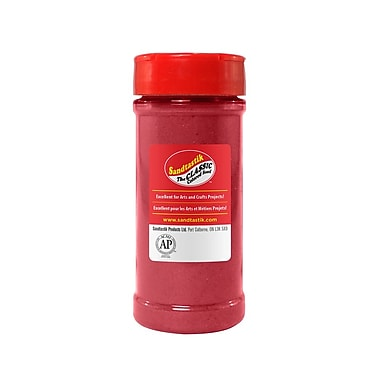 Sandtastik® Classic Coloured Sand, 14 oz (396 g) Bottle, Fuschia, 8/Pack