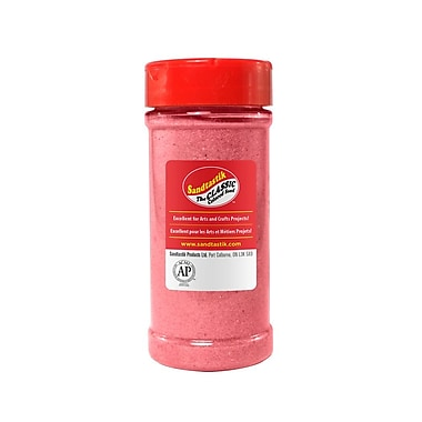 Sandtastik® Classic Coloured Sand, 14 oz (396 g) Bottle, Pink