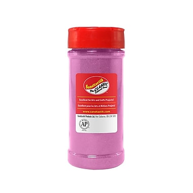 Sandtastik® Classic Coloured Sand, 14 oz (396 g) Bottle, Mauve, 8/Pack