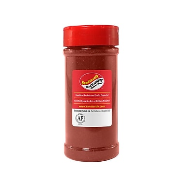 Sandtastik® Classic Coloured Sand, 14 oz (396 g) Bottle, Cranberry