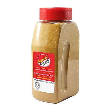Sandtastik® Classic Coloured Sand, 28 oz (795 g) Bottle, Gold