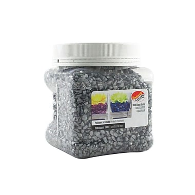 Sandtastik® Coloured ICE Gems, 1.5 Pint, Opal Silver