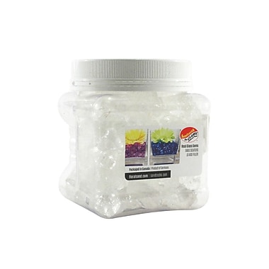 Sandtastik® Coloured ICE Gems, 1.5 Pint, Clear Cubes, 12/Pack