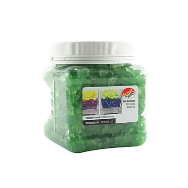 Sandtastik® Coloured ICE Gems, 1.5 Pint, Green, 12/Pack
