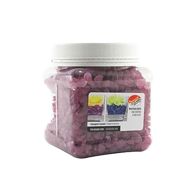 Sandtastik Coloured ICE Gems, 1.5 Pint, Purple, 12/Pack