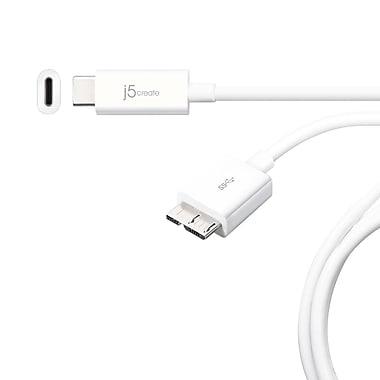 j5create – Câble USB 3.1 type-C vers micro-B, (JUC X07)