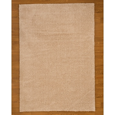 Natural Area Rugs Merida Brown Area Rug; 6' x 9'