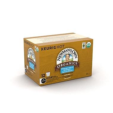 Newman's Own Organics – Mélange spécial de café bio équitable, capsules K-Cup, paq./12 (93-08814)