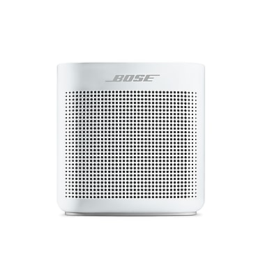 bose haut parleur bluetooth soundlink couleur ii blanc polaire 752195 0200 staples. Black Bedroom Furniture Sets. Home Design Ideas