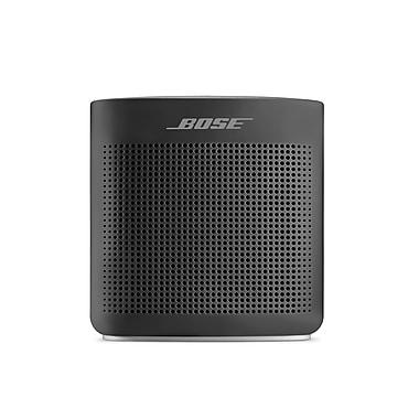 Bose – Haut-parleur Bluetooth SoundLink Couleur II, noir doux (752195-0100)