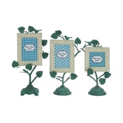 Cole & Grey 3 Piece Metal Picture Frame Set