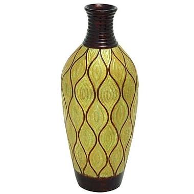 Cole & Grey Terracotta Vase
