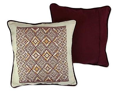 Novica Twilight Stars Pillow Cover (Set of 2)