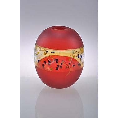Viz Glass Horizon Table Vase